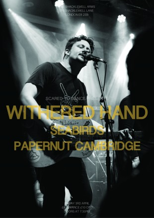 WITHERED HAND GIG ON FRI 3RD APRIL