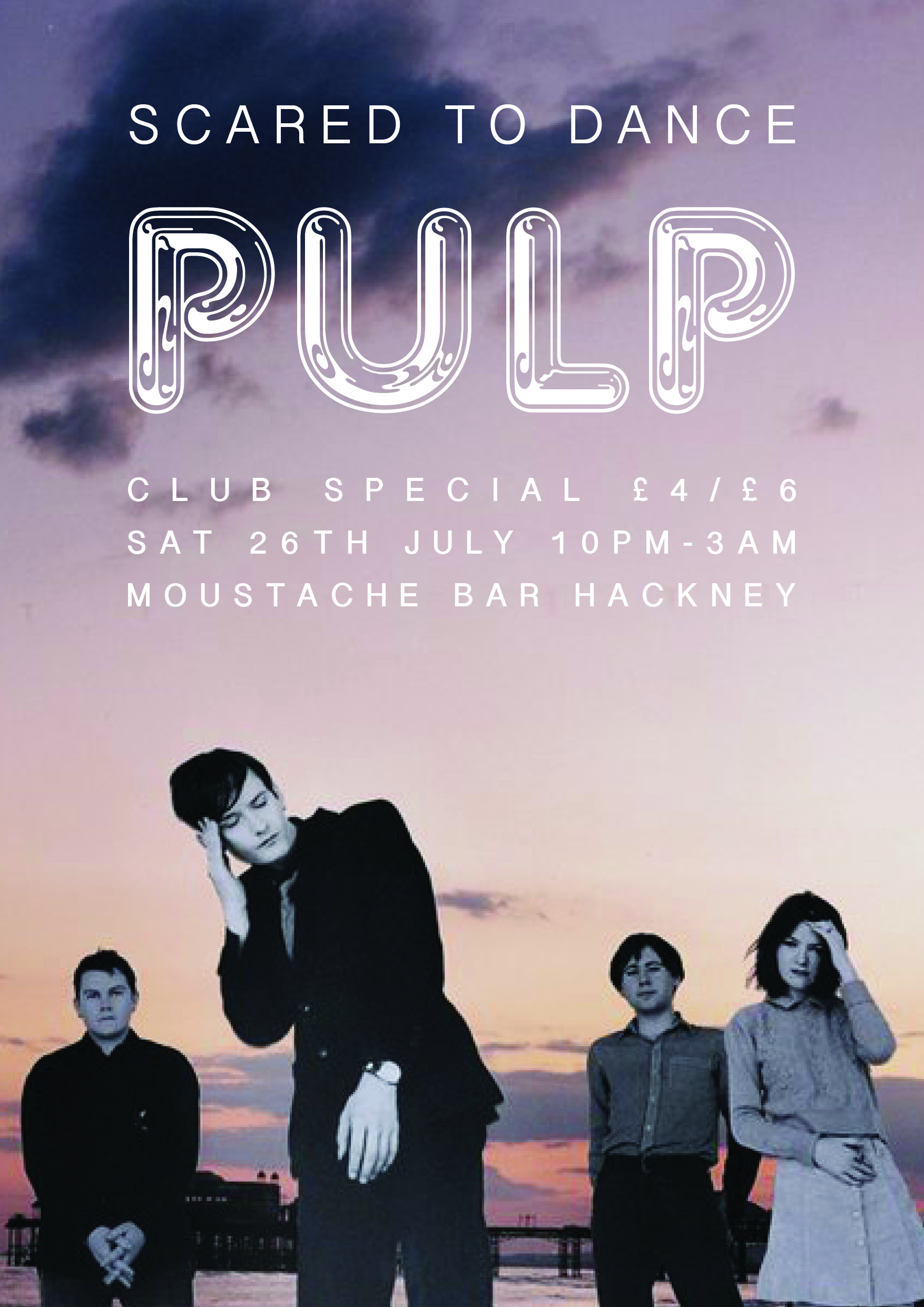 PULP SPECIAL ON SAT 26TH JULY