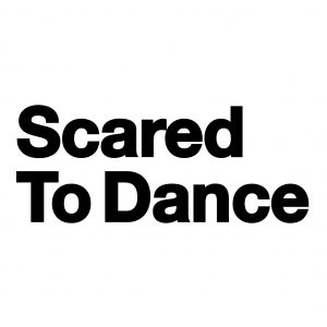 Scared To Dance Logo White & Black
