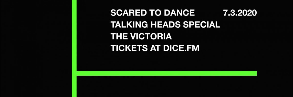 TALKING HEADS SPECIAL ON SAT 7TH MARCH